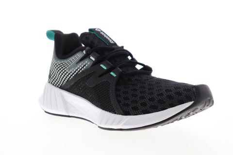 Reebok Fusium Run 2.0 DV4224 Womens Black Mesh Low Top Athletic Running Shoes