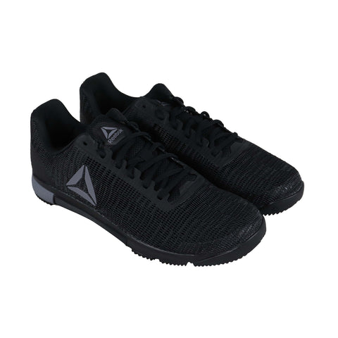 Reebok Speed Tr Flexweave Mens Black Textile Low Top Sneakers Shoes