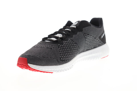 Reebok Flexagon LM DV4805 Mens Black Canvas Athletic Cross Training Shoes