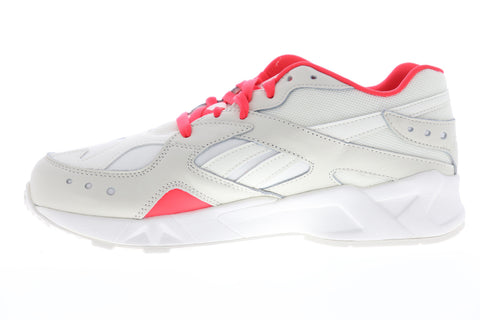 Reebok Aztrek DV6513 Mens White Mesh Low Top Lace Up Lifestyle Sneakers Shoes
