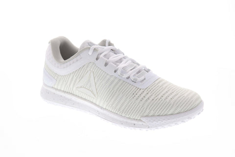 Reebok JJ Watts II DV6774 Mens White Low Top Lace Up Athletic Gym Running Shoes