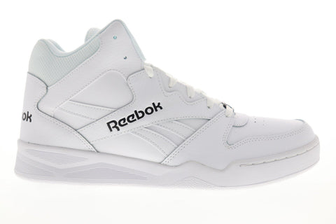 Reebok Royal Bb4500H2 Xe Mens White Leather High Top Sneakers Shoes