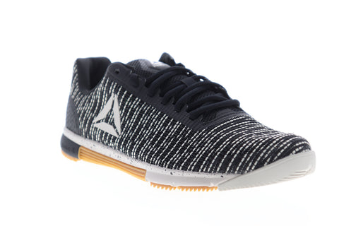 Reebok Speed TR Flexweave Womens Black Low Top Athletic Cross Training Shoes