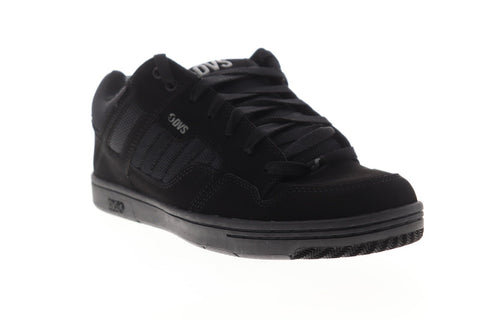 DVS Enduro 125 DVF0000278001 Mens Black Leather Lace Up Athletic Skate Shoes