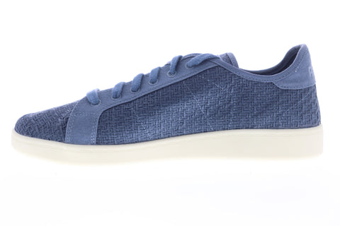 Reebok NPC UK Cotton And Corn EG1575 Mens Blue Canvas Lifestyle Sneakers Shoes