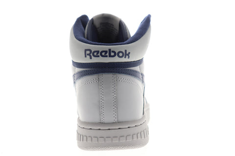 Reebok BB 4600 EH3333 Mens Gray Leather High Top Basketball Sneakers Shoes