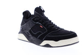 Globe Tilt Evo GBTILTEVO Mens Black Nubuck Lace Up Athletic Skate Shoes