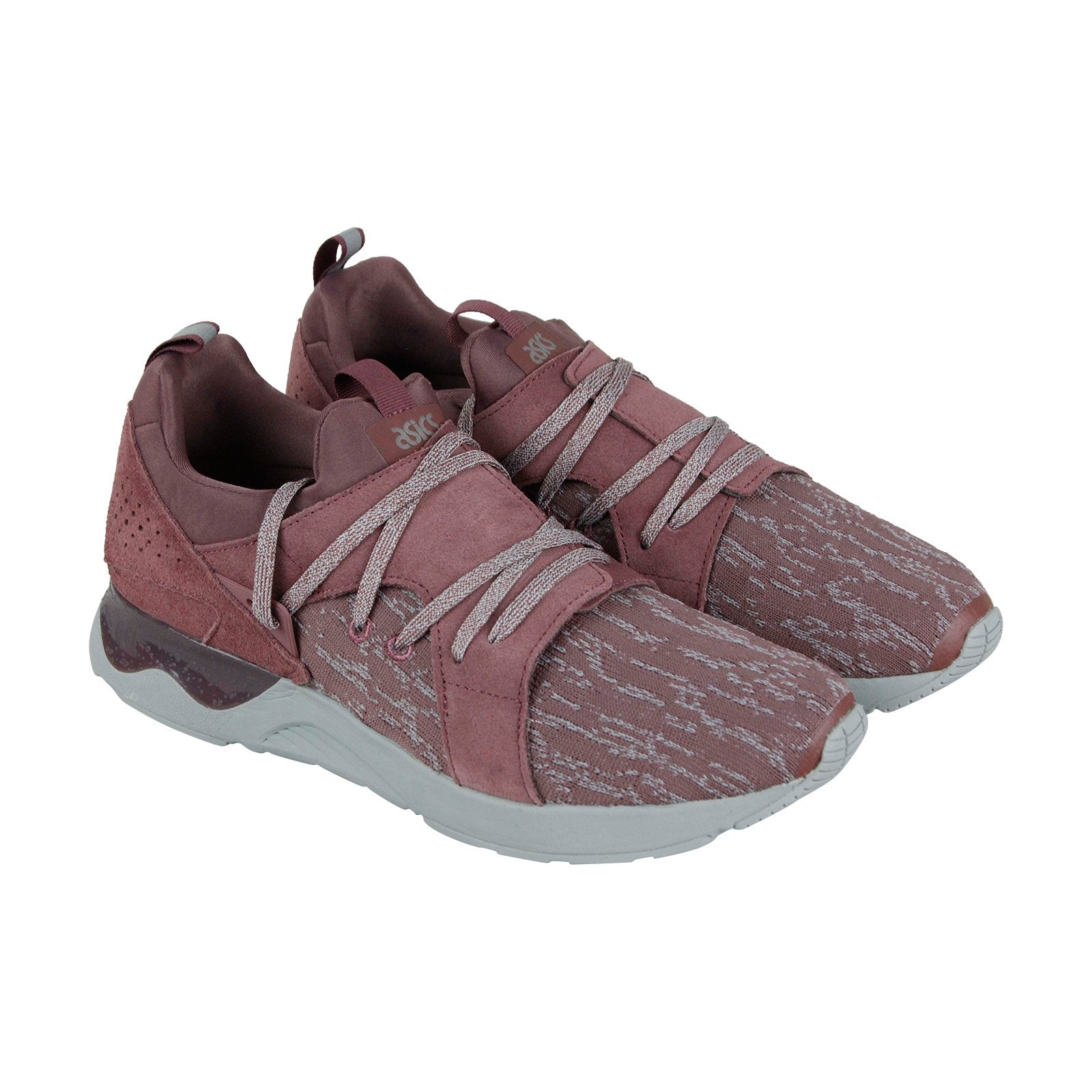 sale retailer 25446 7beef Asics Gel Lyte V Sanze Mens Pink Suede & Textile Low Top Sneakers Shoes