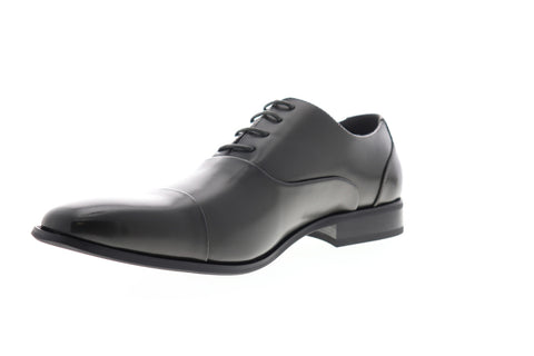 Unlisted by Kenneth Cole Stun Ner JMF6SY059 Mens Gray Cap Toe Oxfords Shoes