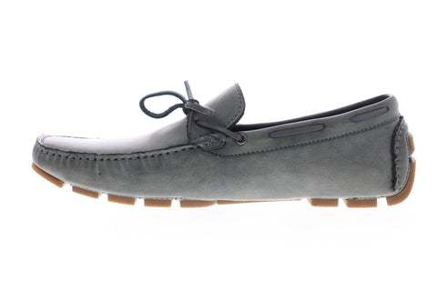 Unlisted by Kenneth Cole Hope Driver JMS8SY015 Mens Gray Boat Shoes Loafers