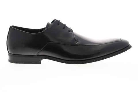 Unlisted by Kenneth Cole Win-Ner Takes All Mens Black Plain Toe Oxfords Shoes