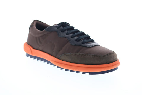 Camper Marges K100050-018 Mens Brown Low Top Lace Up Euro Sneakers Shoes