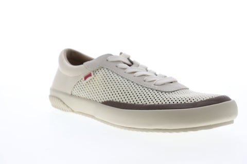 Camper Peu Rambla Rail K100413-003 Mens Beige Tan Mesh Euro Sneakers Shoes