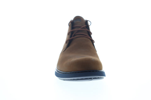 Camper Neuman K300171-001 Mens Brown Nubuck Leather Mid Top Chukkas Boots