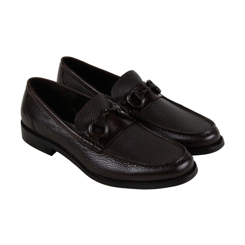 Kenneth Cole New York Design 10483 Mens Brown Casual Dress Loafers Shoes