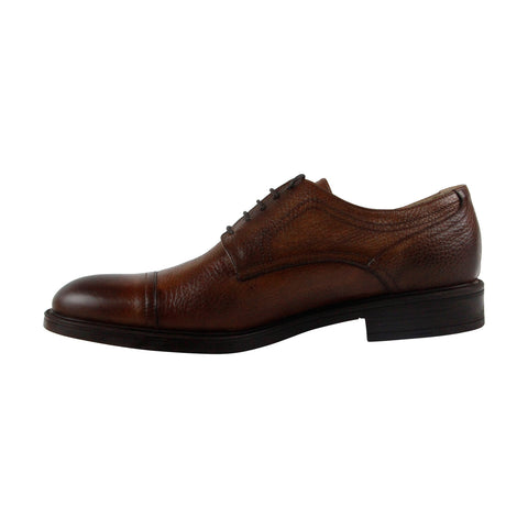 Kenneth Cole Design 10621 Mens Brown Leather Casual Dress Oxfords Shoes