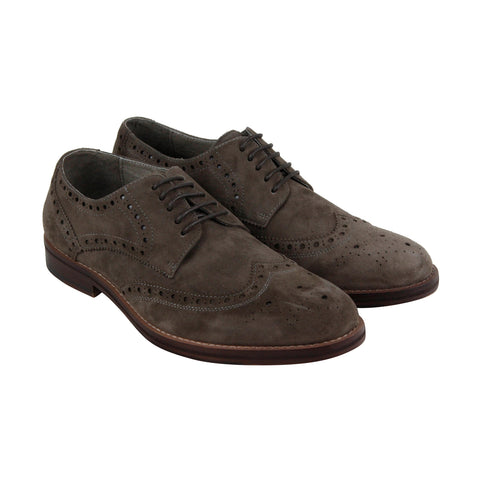 Kenneth Cole New York Design 10071 Mens Brown Casual Dress Oxfords Shoes