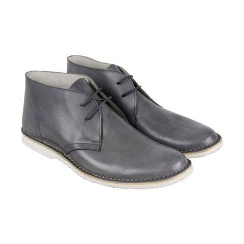 Kenneth Cole New York Witten Boot Mens Gray Casual Dress Chukkas Shoes