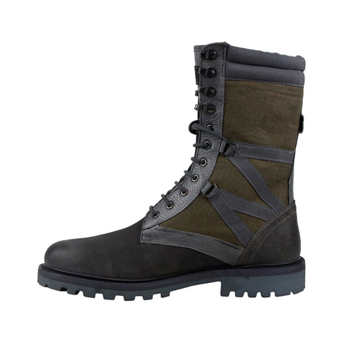 Michael Bastian Combat Ultra Force Mens Gray Casual Dress Boots Shoes