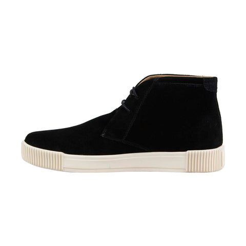 Michael Bastian Lyons Chukka Mens Black Suede Low Top Lace Up Sneakers Shoes