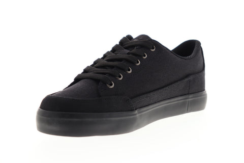 Lugz Colony CC MCOLCC-001 Mens Black Canvas Low Top Lifestyle Sneakers Shoes