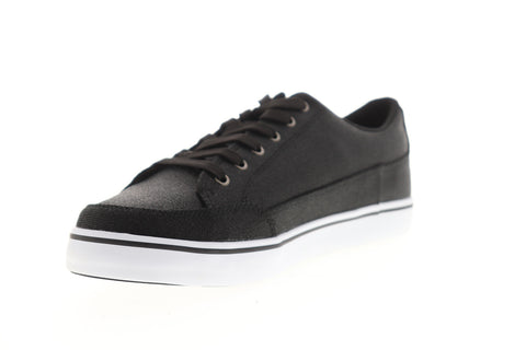 Lugz Colony CC MCOLCC-060 Mens Black Canvas Low Top Lifestyle Sneakers Shoes
