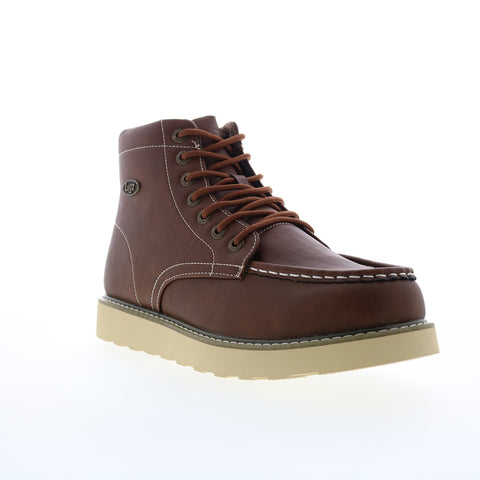 Lugz Cypress Mens Brown Lace Up Casual Dress Boots