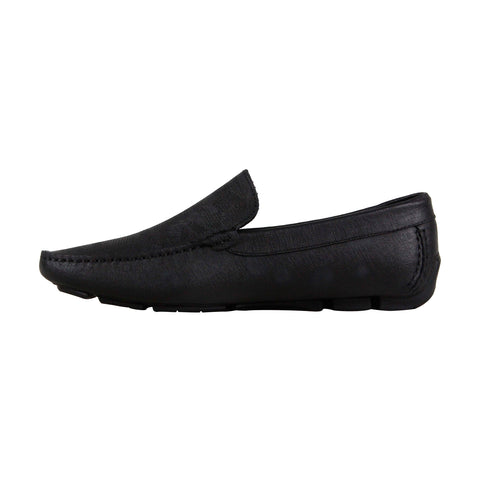 Kenneth Cole New York Common Theme Mens Black Casual Dress Loafers Shoes