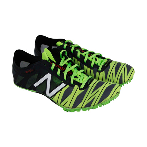 New Balance Sd400V2 Spike Mens Green Synthetic Athletic Training Shoes