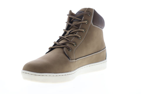 Lugz Vast MVASGD-2355 Mens Brown Leather High Top Lifestyle Sneakers Shoes