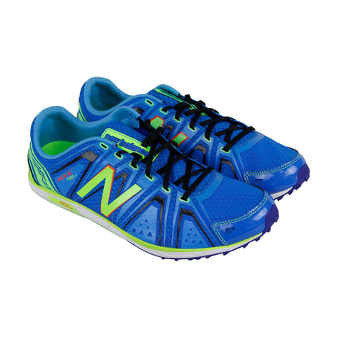 New Balance Xc700V3 Spike Mens Blue Synthetic Athletic Lace Up Training Shoes