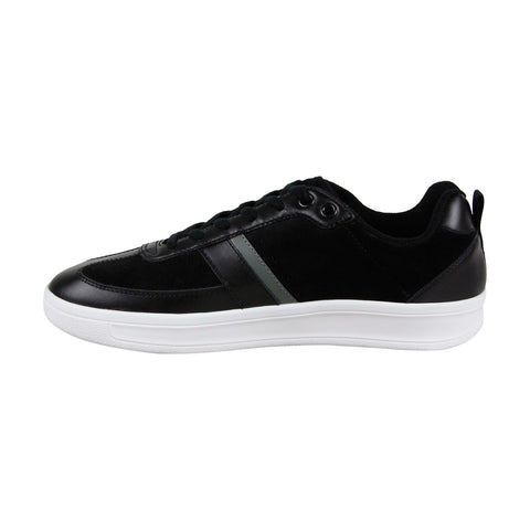Original Penguin Braiden OP100022M Mens Black Leather Lifestyle Sneakers Shoes
