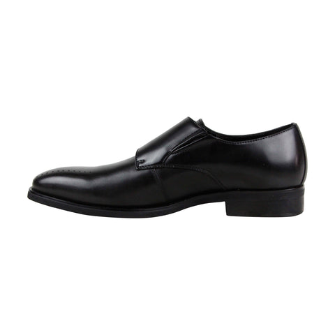 Kenneth Cole Reaction Travis Monk Mens Black Casual Dress Oxfords Shoes