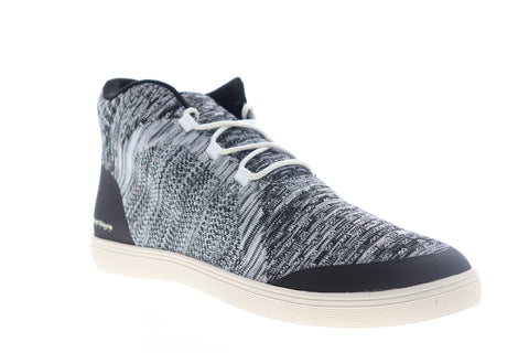 Robert Wayne Fenmore RW100233M Mens Black Canvas Lifestyle Sneakers Shoes