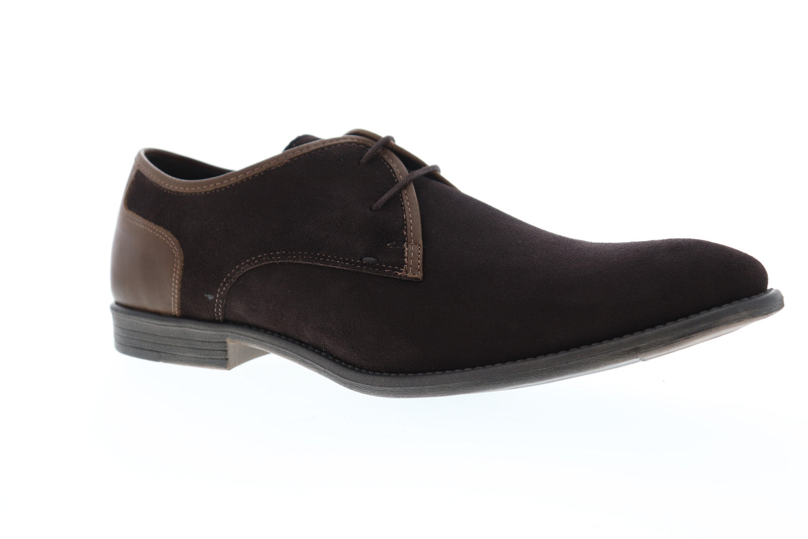 Robert Wayne TF Giona RWF1285M Mens Brown Suede Casual Lace Up Oxfords Shoes