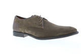 Robert Wayne TF Giona RWF1287M Mens Brown Suede Low Top Plain Toe Oxfords Shoes