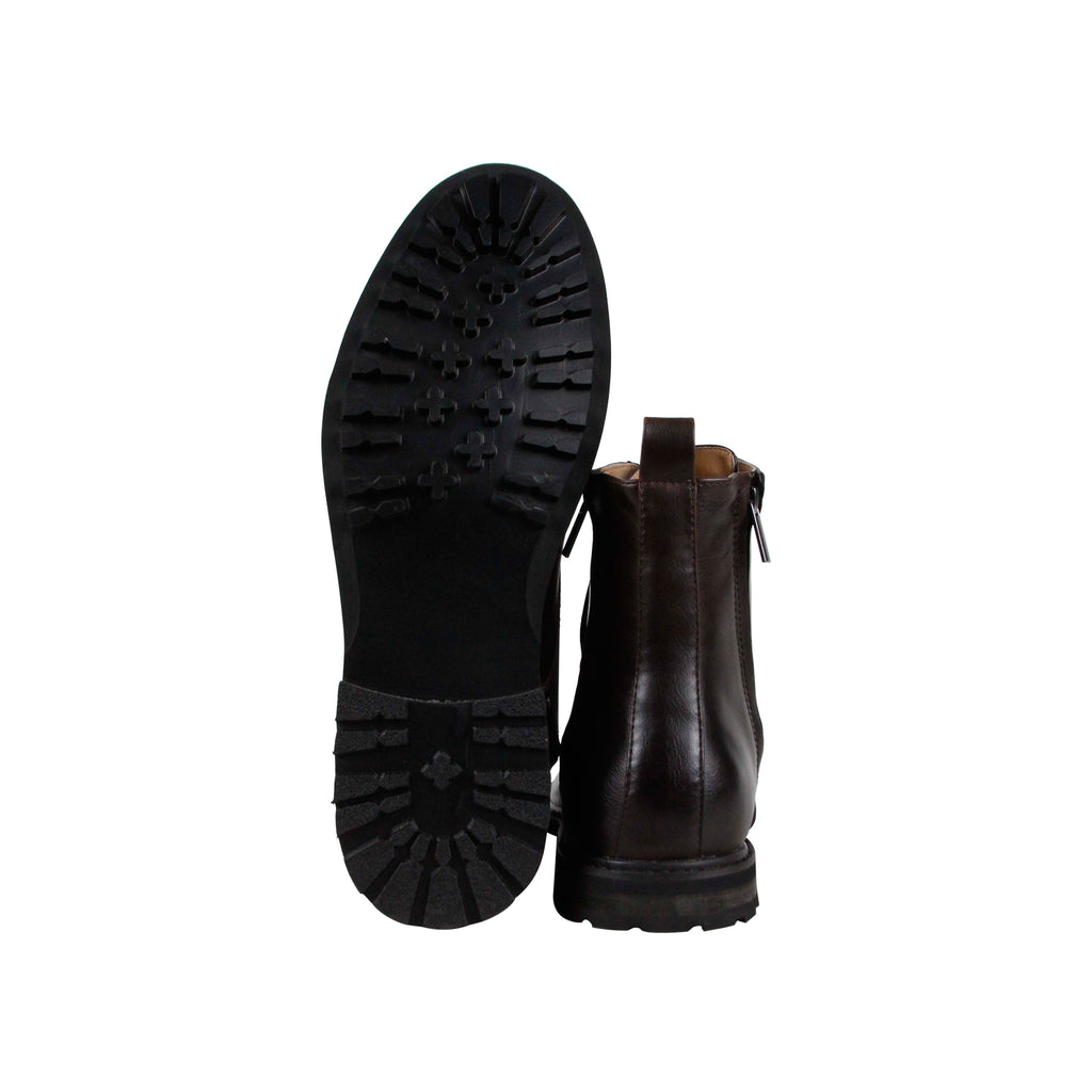 e78aac876fe Robert Wayne Thatcher Mens Brown Synthetic Casual Dress Lace Up Boots Shoes