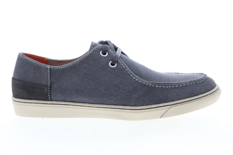 Calvin Klein Zolton Denim 34S1152-DGR Mens Gray Canvas Boat Shoes Loafers
