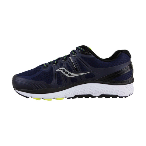 Saucony Echelon 6 Mens Blue Mesh Athletic Lace Up Running Shoes