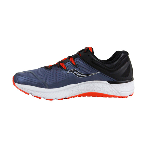 Saucony Guide Iso Mens Blue Textile Athletic Lace Up Running Shoes