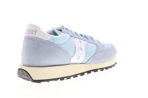 Saucony Jazz Original Vintage S60368-41 Womens Blue Lifestyle Sneakers Shoes