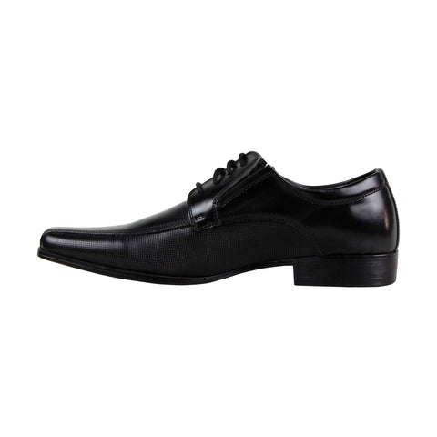 Kenneth Cole Reaction Public P Review Mens Black Casual Dress Oxfords Shoes