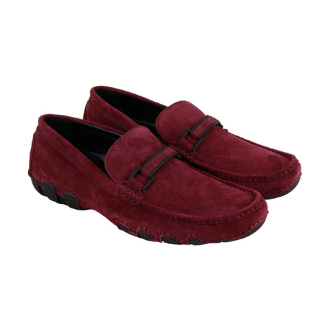 Kenneth Cole Reaction Design 20474 Mens Red Casual Dress Loafers Shoes