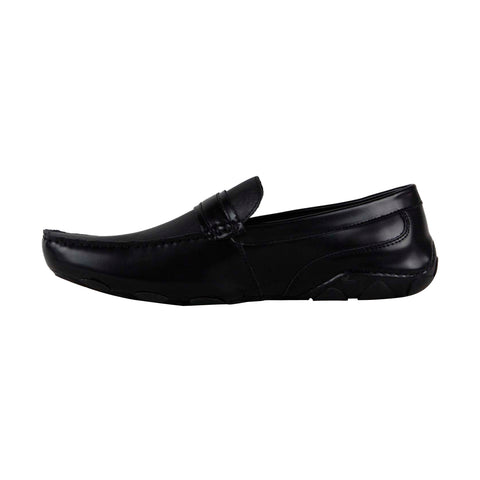 Kenneth Cole Reaction Toast 2 Me Mens Black Casual Dress Loafers Shoes