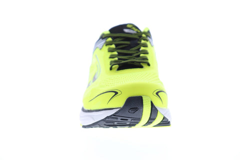 Spira Aquarius Mens Yellow Textile Athletic Lace Up Running Shoes