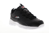 Fila Ray 5RM00521-014 Womens Black Casual Low Top Lifestyle Sneakers Shoes
