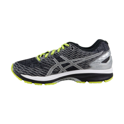 Asics Gel Nimbus 18 Lite Show Mens Black Textile Athletic Running Shoes