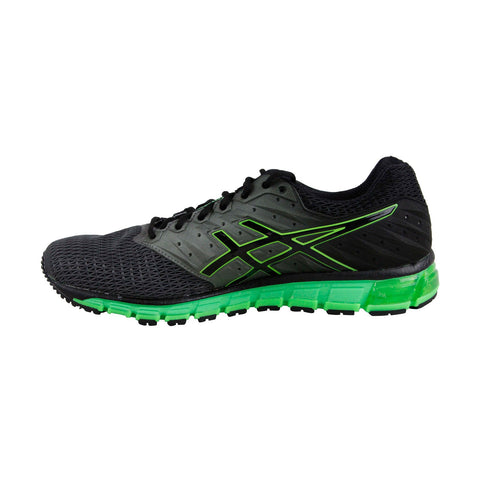 Asics Gel Quantum 180 2 Mens Black Textile Athletic Lace Up Running Shoes