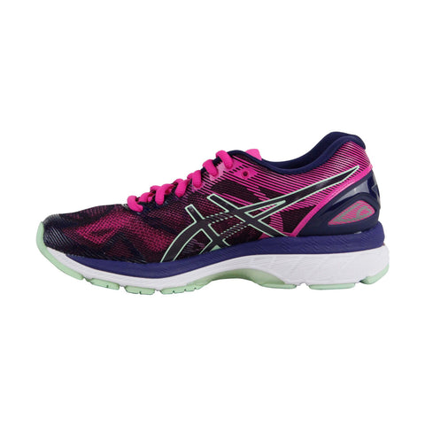 Asics Gel Nimbus 19 T750N-4987 Womens Pink Low Top Athletic Gym Running Shoes