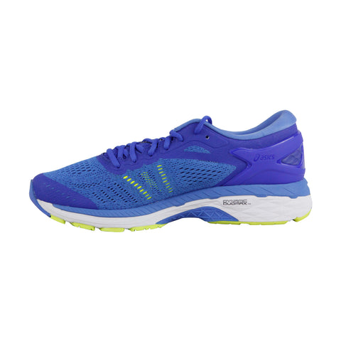 Asics Gel Kayano 24  Womens Blue Textile Athletic Lace Up Running Shoes